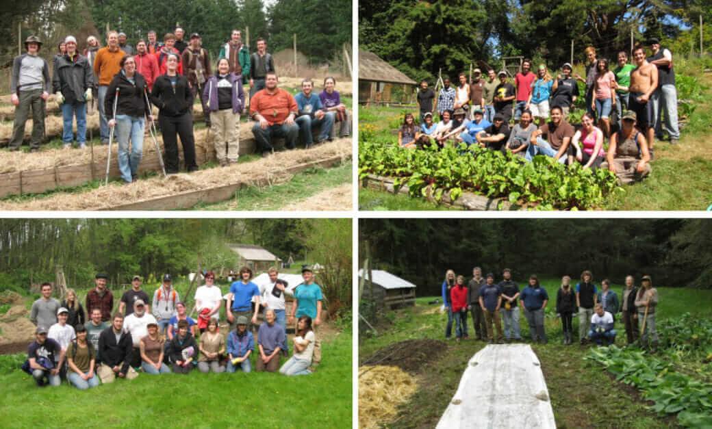 LEAF Service Learning Program of Edmonds Community College at the Westgarden