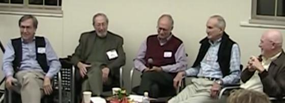 Roger Harrison (center)